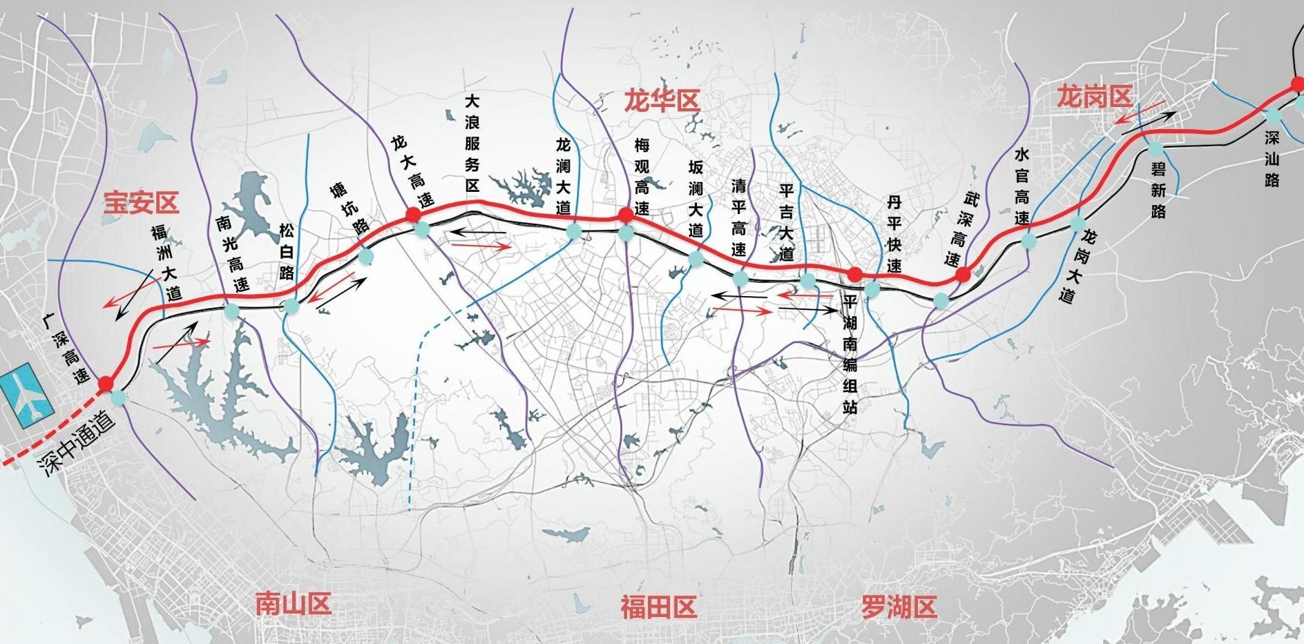 新年开工第一天,深圳又开挂!机荷高速将改上下双层8+8车道,全国首创