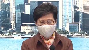 林郑月娥:香港疫情现下降趋势 但没放心到可放宽措施
