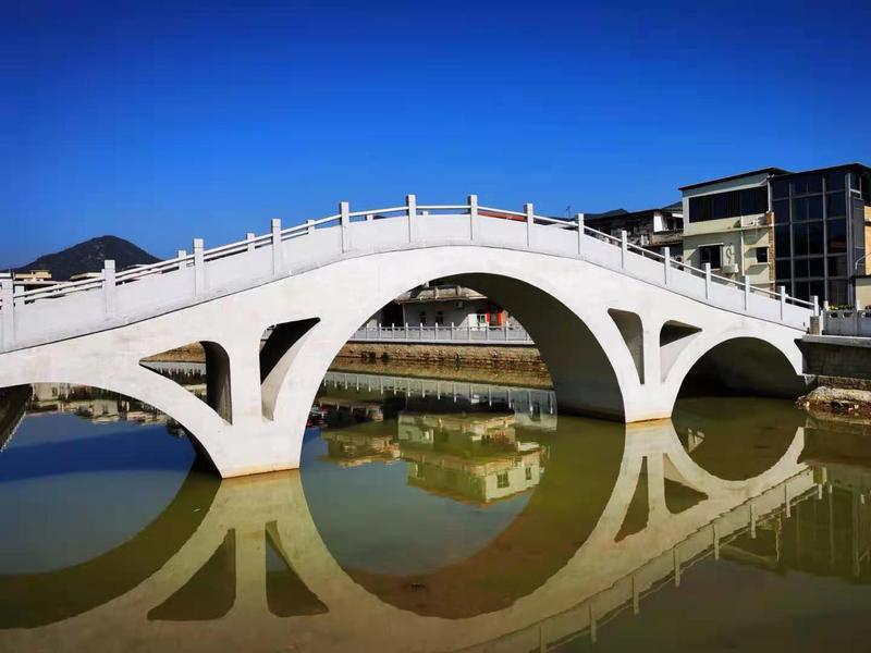 """""""桥""""寄桑梓情,大鹏华侨捐建的赖汉桥,重建了"""