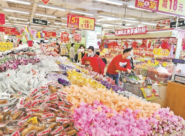 """""""米袋子""""""""菜篮子""""重点保供商家春节""""不打烊"""" 深圳民生商品备货充足"""