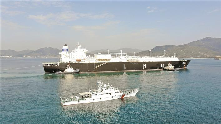 增长22.05%!深圳港LNG接卸量逆势创新高