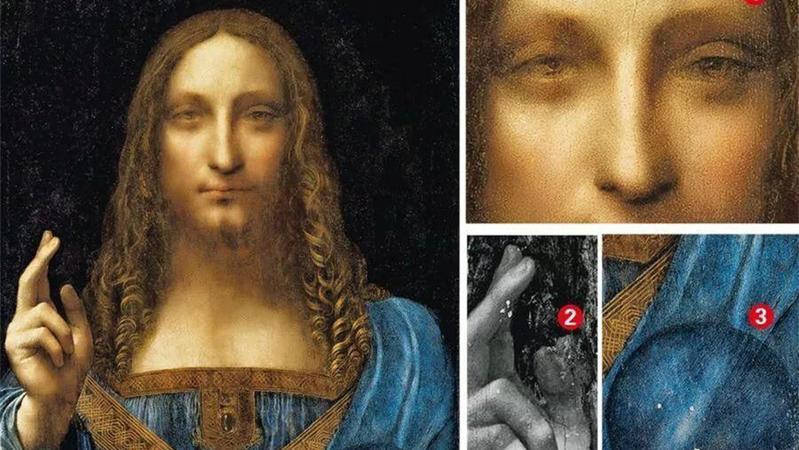 意大利查获被盗达芬奇画派名作《救世主》,创作于15世纪