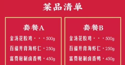 留深过年怎么吃? 深圳年夜饭热销 ,外卖打包或成趋势