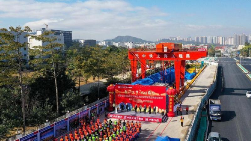 深圳:综合管廊开始盾构