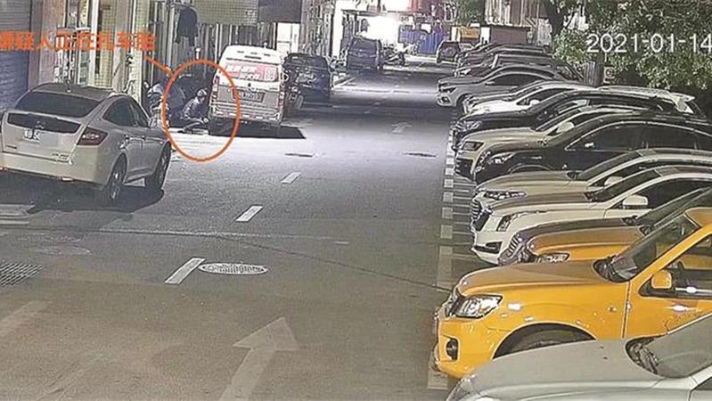 抢车位不成扎人车胎 公明一司机被行拘5天