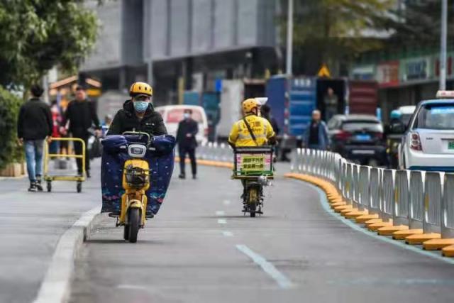 深圳优化城市慢行系统,繁华路段开辟非机动车道