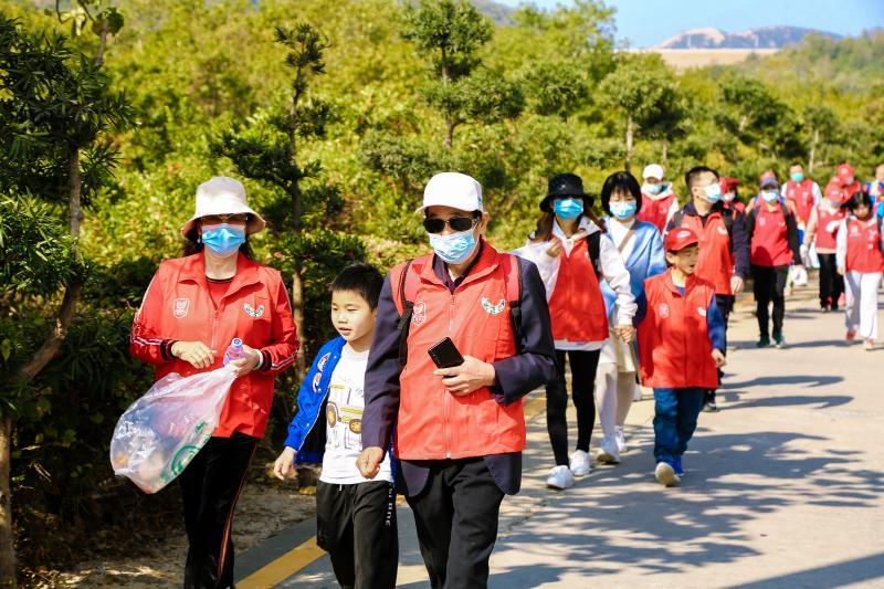"""新区""""亮净一号""""行动再出实招:打造全市首条生态旅游志愿服务示范段"""