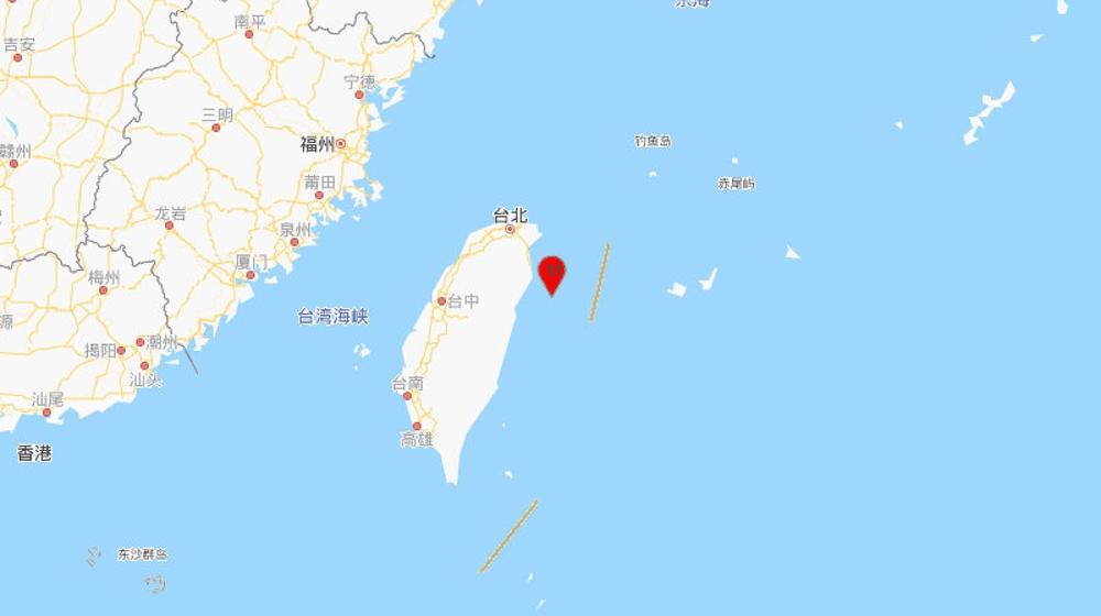 台湾宜兰县海域发生5.3级地震,震源深度20千米