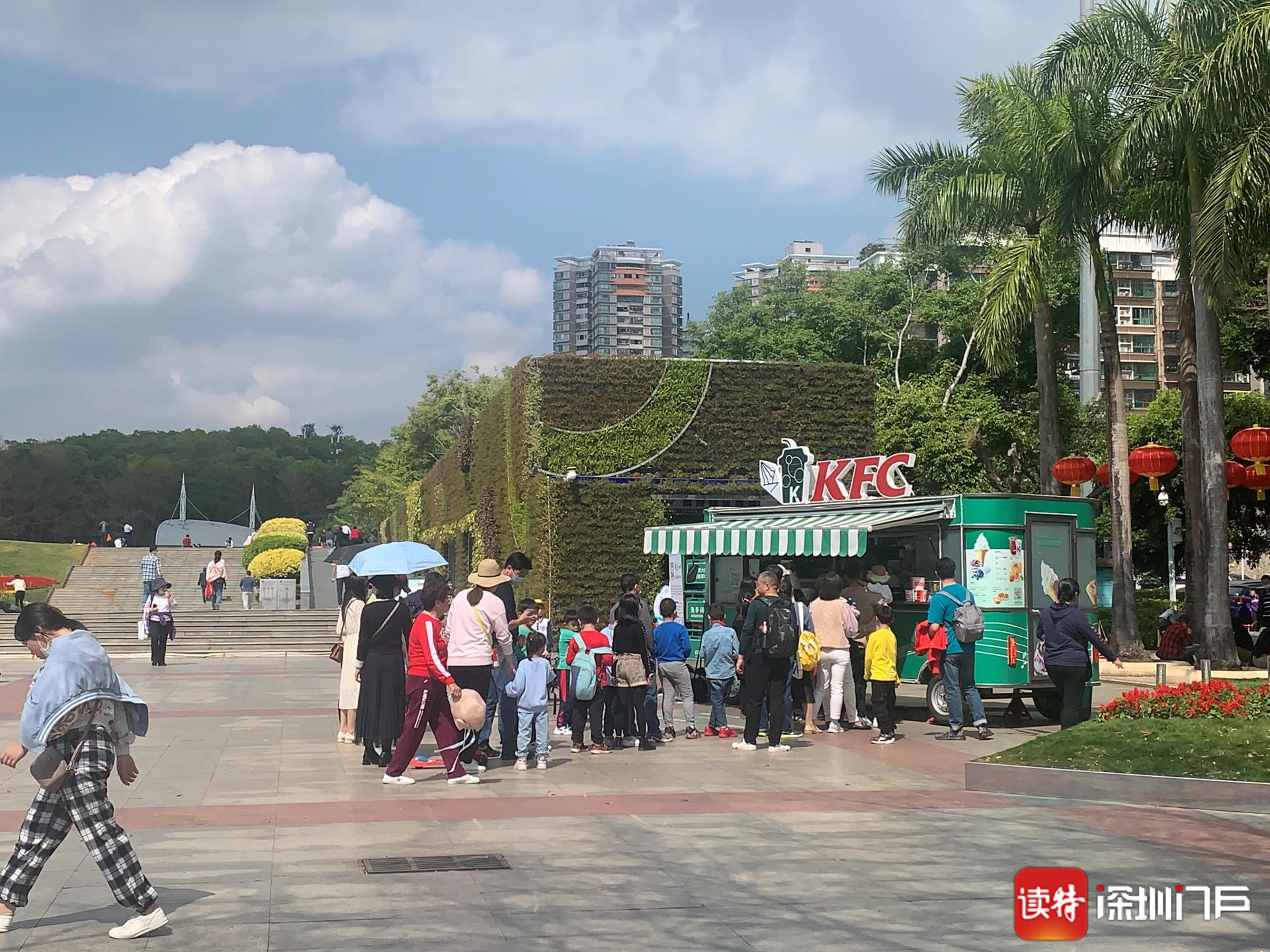 出行、游园、购物 在深圳过年,文明已经蔚然成风