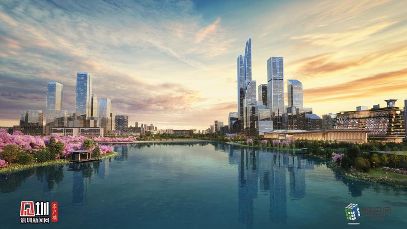 占地20公顷,容纳1.5万人!深圳国际交流中心正式开工