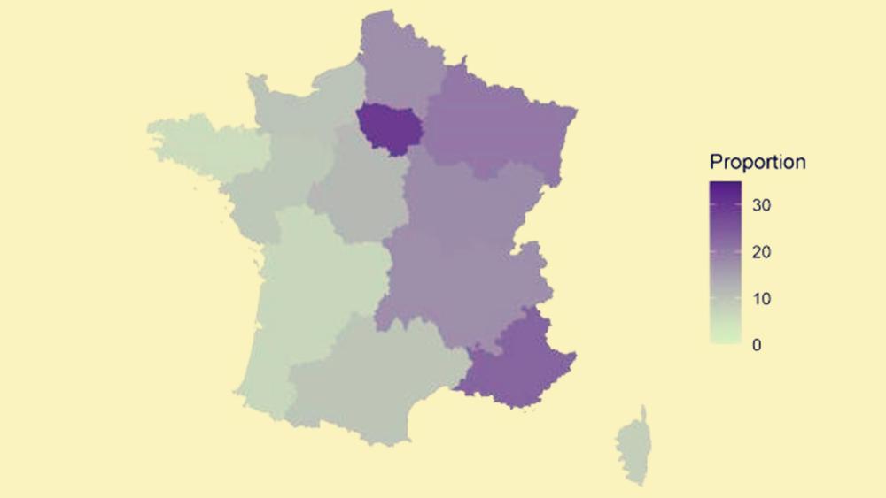 巴斯德研究所:法国本土或有近17%的20岁以上成年人感染新冠