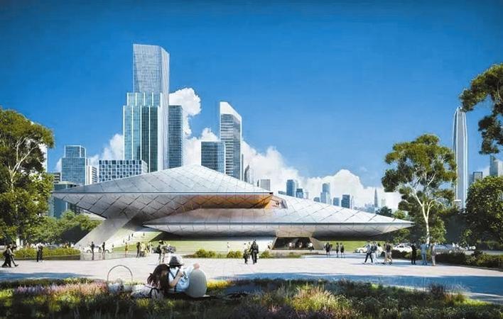 香蜜湖两大地标建筑设计亮相国际演艺中心、金融文化中心国际竞赛设计方案揭晓