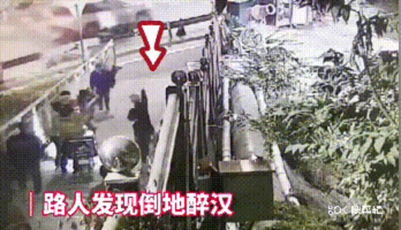 醉酒男子倒地流血不止,深圳13岁男孩上演教科书式施救!