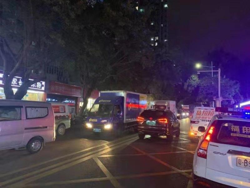 华强北片区拟实施货车限时通行 交警公开征求意见