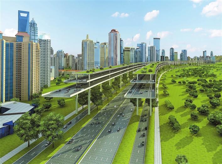 """未来交通如何发展,市民:""""空中多功能快速路"""" 可有效化解交通拥堵"""