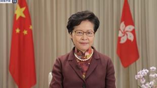 """林郑月娥:香港国安法是香港的""""定海神针"""""""