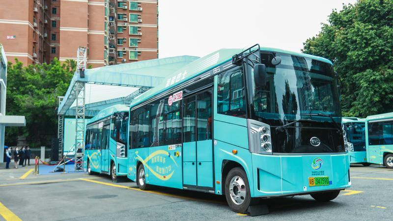 """深新早点丨8条新型接驳巴士线开通 """"招手即停"""" ,一周内免费乘车"""