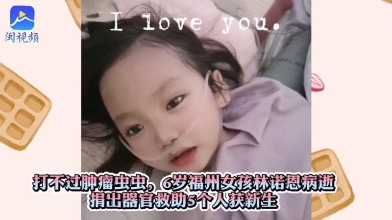 6岁小天使,让5人重获新生!还有他们一个举动让生命延续……