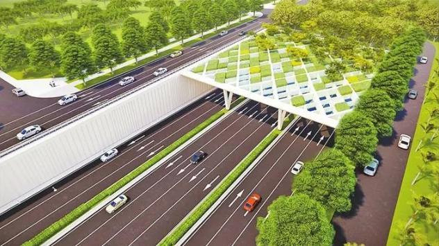 深新早点丨地上公园,地下行车,滨海大道下沉改造2023年完工 将释放10万㎡土地