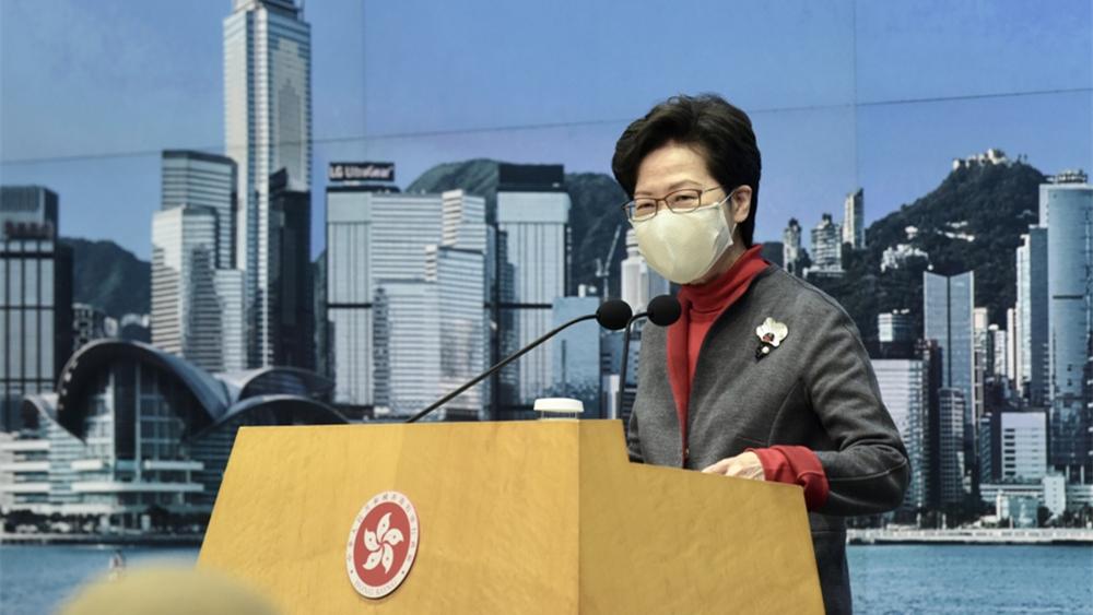 林郑月娥:美领馆两职员初步确诊 已被隔离