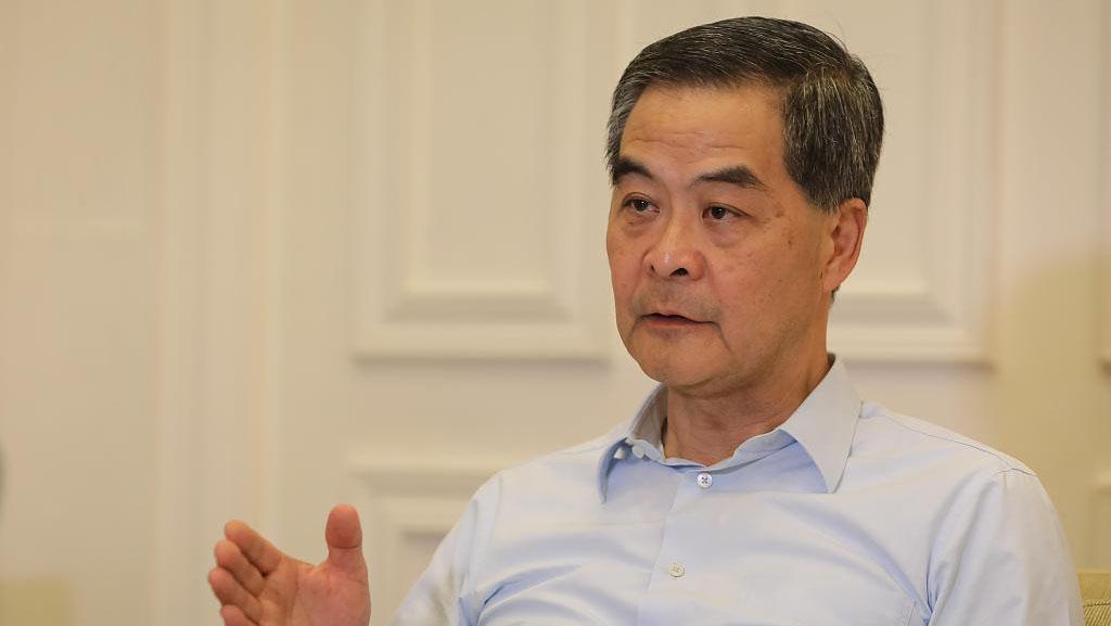 梁振英支持新修订的香港基本法附件一、附件二:代表性更广泛