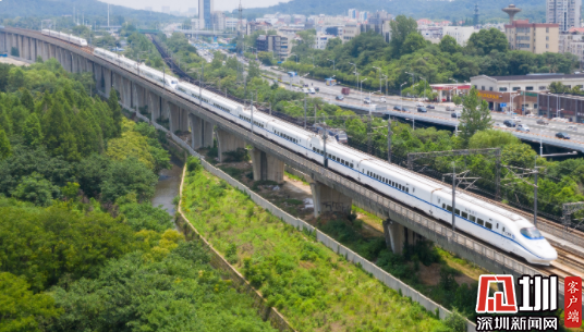 全国铁路明起将实施新列车运行图 广深佛莞肇互通城际列车