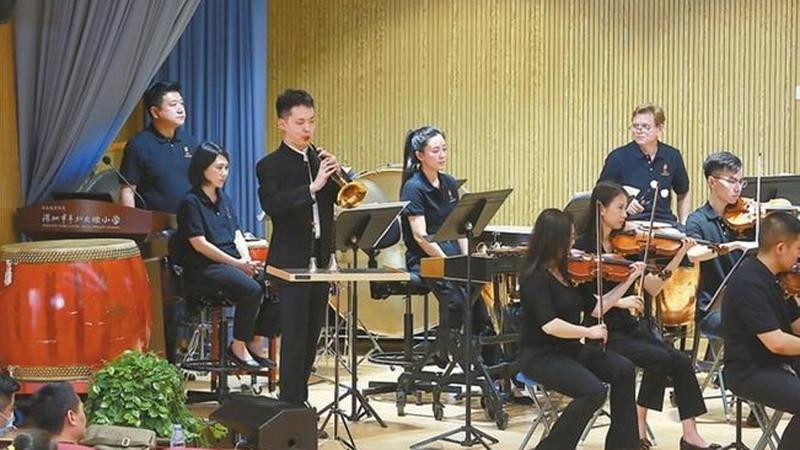 深交奏响红色经典乐曲 全年演出40余场