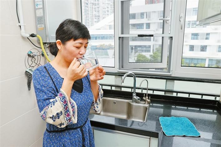 深圳全市2025年实现自来水直饮,盐田区已率先实现这一目标