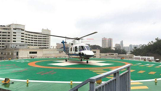 急需移植的器官辗转桂粤3市 客机直升机联动完成生命接力