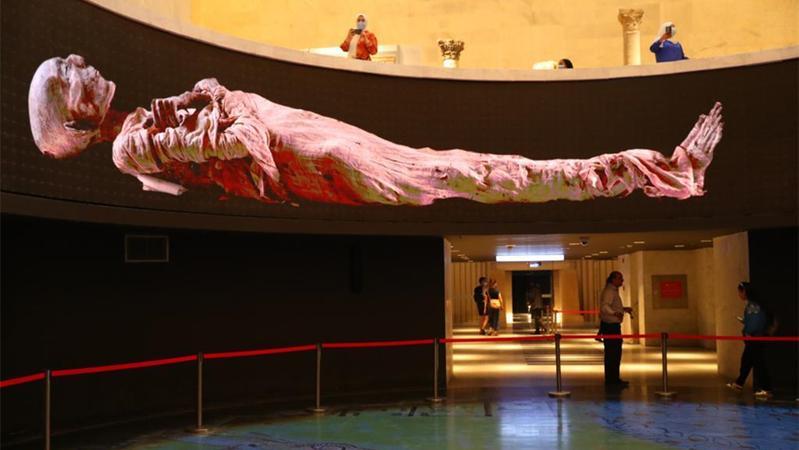 埃及文明博物馆王室木乃伊馆向公众开放