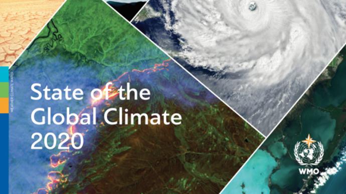 世界气象组织报告:2020年是有记录以来三个最暖年份之一