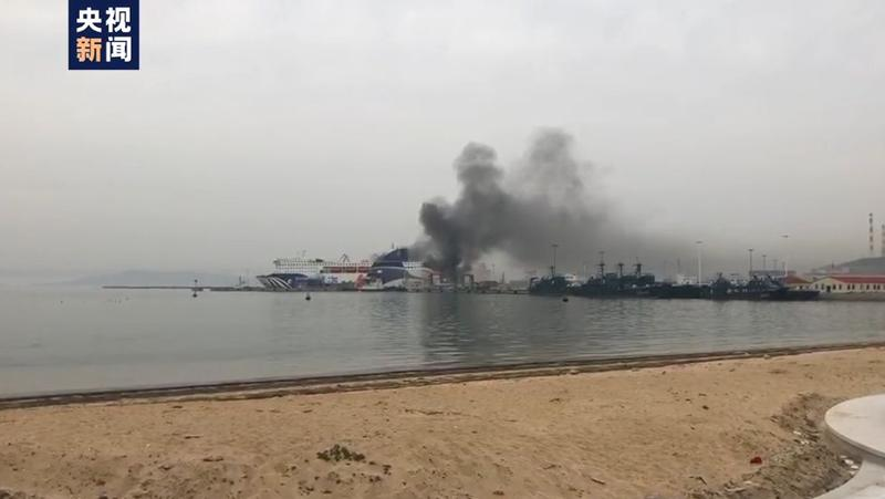 山东威海港一客滚船发生爆炸 应急管理部派工作组赴现场处置