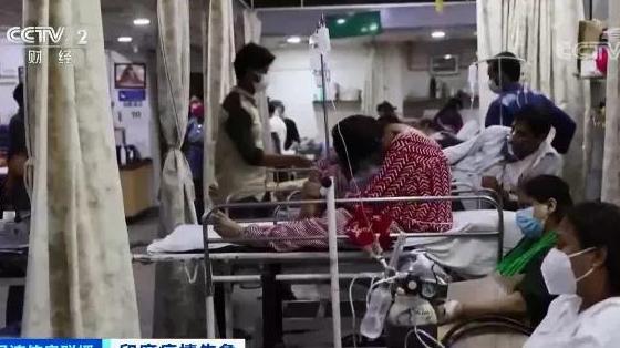 出动警力!印度疫苗接种场面一度失控