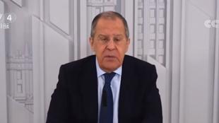 俄外长:将新冠病毒起源政治化无助于全球抗疫