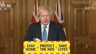 英国首相约翰逊接种第二针阿斯利康疫苗