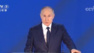 普京签署退出《开放天空条约》法律草案
