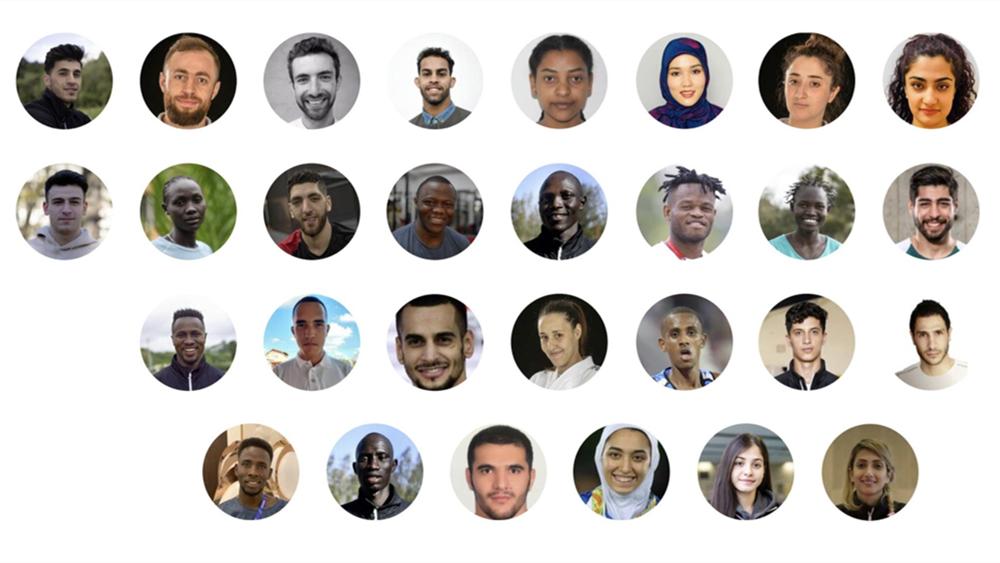 东京奥运会难民代表团成立 包括29名运动员