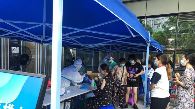 广州荔湾区白鹤洞街等三街道14日起开展新一轮全员核酸检测