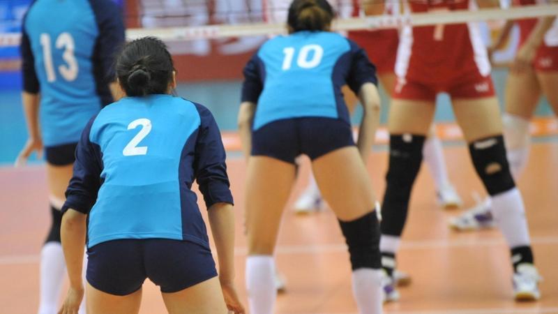 中国女排战胜多米尼加队 收获三连胜