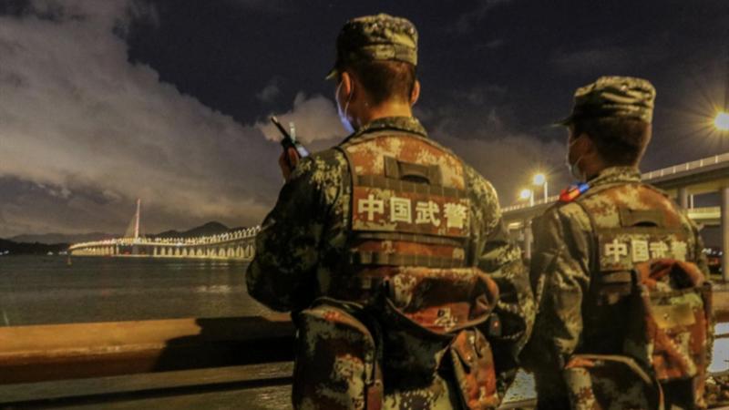 深圳武警端午假期全天候坚守战位,守护鹏城平安
