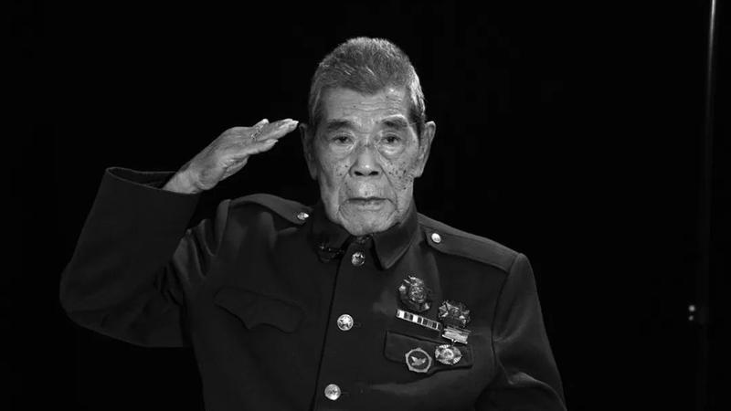 电影《上甘岭》连长原型、抗美援朝老英雄张计发今早逝世