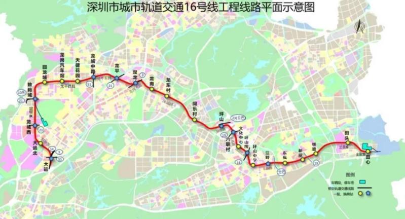 盾构施工完成90%!深圳地铁16号线预计2023年建成通车