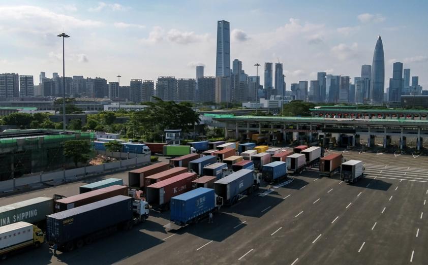 深圳湾口岸货检24小时通关模式查验量突破100万