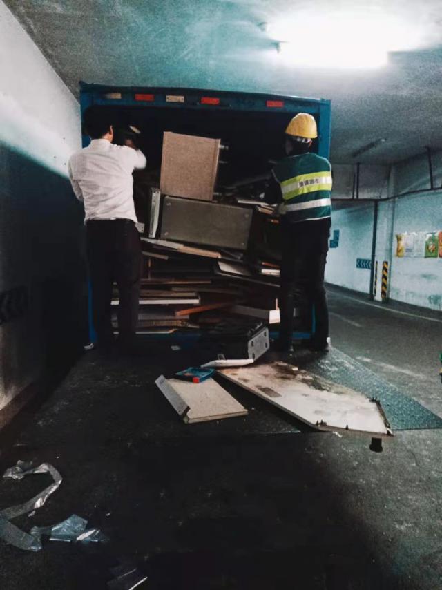深圳废旧家具有了好去处!大件垃圾粉碎后可再利用