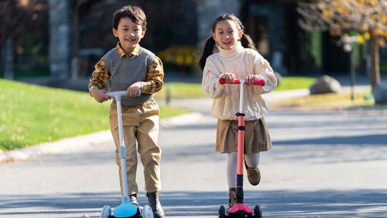 抽查近三成不合格 儿童滑板车这些安全隐患不能忽视