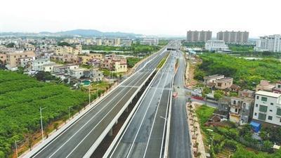 中山举行市重点交通项目集中通车仪式,坦洲快线再通5公里!城区出发12分钟可直达三乡