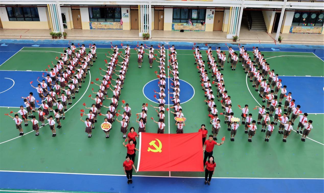——荔园教育集团党委第一支部庆祝中国共产党成立100周年主题活动 奋斗百年路 启航新征程(图1)