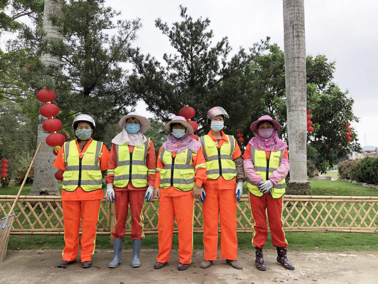 """深汕景城环境科技公司精心洁净""""田园城市"""""""