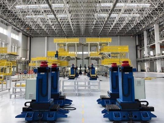 AG600生产线完成改造升级,助力生产效率提升!
