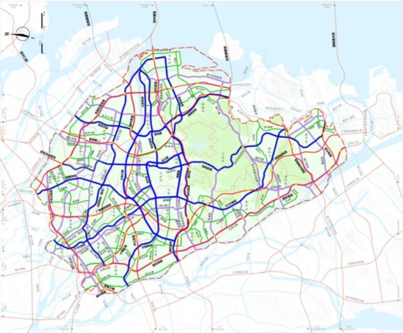 重磅!中山最新干线公路网规划公示